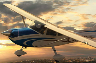 Cessna 182 charter flights are limited to aircraft availability and charter companies servicing cities, such as Vancouver, Calgary or Toronto, Canada.